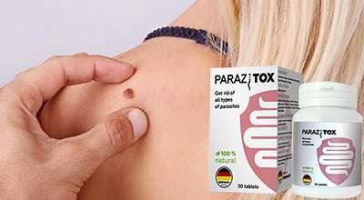 Препарат Паразитокс от бородавок и папиллом