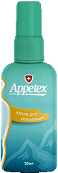 Капли Appetex мини версия.