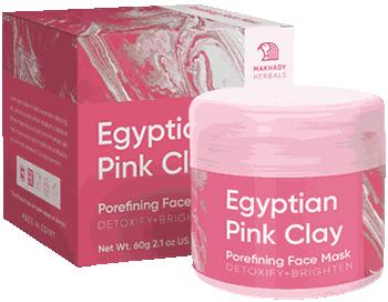 Маска Egyptian Pink Clay.