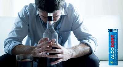 Таблетки Алкодонт от алкоголизма.