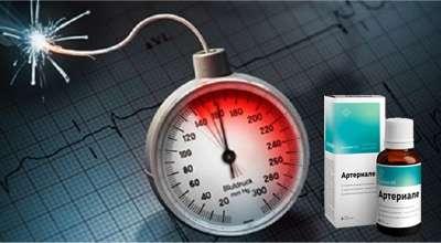 Препарат Артериале от давления.