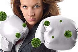 Сиртфуд поддерживает иммунитет.